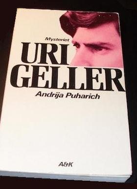 "Puharich, Andrija, ""Mysteriet Uri Geller"" HÄFTAD"