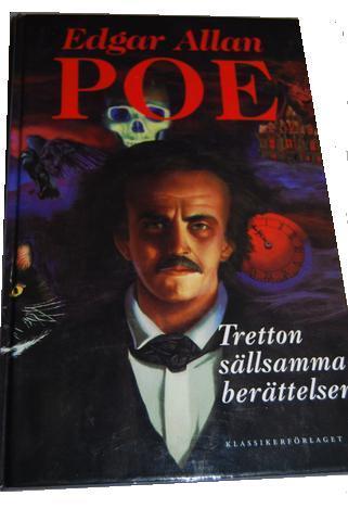 """Poe, Edgar Allan """"Tretton sällsamma berättelser"""" Klassikerförlaget SLUTSÅLD"""