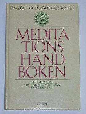 """Goldstein Joan, Manuela Soares, """"Meditationshandboken"""" KARTONNAGE"""