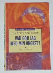 """Ottosson, Jan-Otto, """"Vad gör jag med min ångest?"""" KARTONNAGE"""