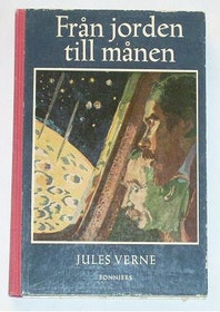 """Verne, Jules, """"Från jorden till månen"""" INBUNDEN"""