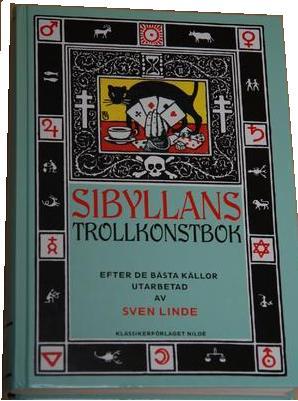 """Linde, Sven """"Sibyllans trollkonstbok"""" KARTONNAGE"""