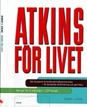"""Atkins, Robert C, """"ATKINS för livet"""" INBUNDEN"""