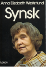 "Westerlund, Anna Elisabeth, ""SYNSK"" HÄFTAD"