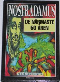 """Lemesurier, Peter, """"Nostradamus - de närmaste 50 åren"""" INBUNDEN"""