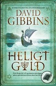 """Gibbins, David, """"Heligt guld"""" INBUNDEN"""