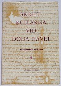 """Wilson, Edmund, """"Skriftrullarna vid Döda havet"""" HÄFTAD"""
