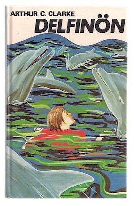 """Clarke, Arthur C., """"Delfinön"""" KARTONNAGE"""