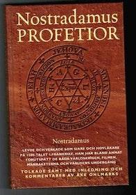 """Ohlmarks, Åke, """"Nostradamus profetior"""" KARTONNAGE. (Klassikerförlaget 1999)"""