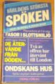 """Blundell, Nigel & Boar, Roger """"Världens största spöken"""" KARTONNAGE SLUTSÅLD"""