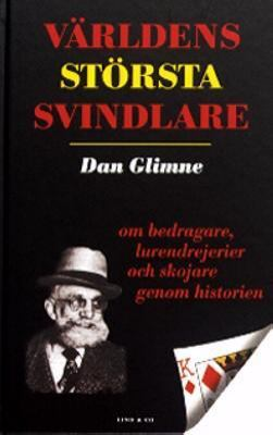 "Glimne, Dan ""Världens största svindlare"" KARTONNAGE"