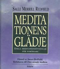 """Merrill Redfield, Salle, """"Meditationens glädje: enkla meditationsövningar för nybörjare"""" KARTONNAGE"""