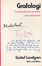 """Lundgren, Gustaf, """"Grafologi - Vad handstilen berättar om människan"""" HÄFTAD"""