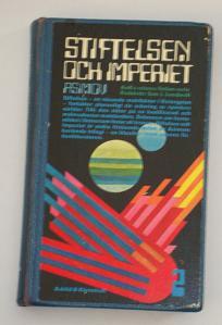 """Asimov, Isaac, """"Stiftelsen och imperiet"""" INBUNDEN SLUTSÅLD"""