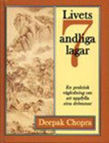 "Chopra, Deepak, ""Livets sju andliga lagar"" ANTIKVARISK KARTONNAGE"