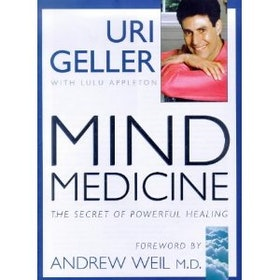 "Geller, Uri ""Mind Medicine - The secret of powerful healing"" INBUNDEN SLUTSÅLD"