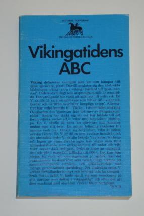"""Thunmark-Nylén, Lena,  (huvudred), """"Vikingatidens ABC"""" POCKET SLUTSÅLD"""
