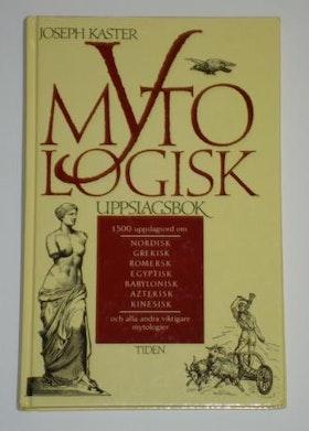 """Kaster, Joseph, """"Mytologisk uppslagsbok"""" KARTONNAGE"""