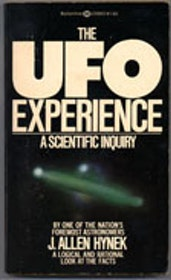 "Hynek, J Allen, ""The UFO Experience - a Scientific Inquiry"" POCKET"
