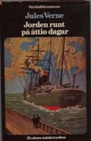 """Verne, Jules, """"Jorden runt på åttio dagar"""" INBUNDEN"""