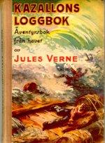 """Verne, Jules, """"Kazallons loggbok"""" KARTONNAGE"""