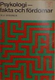 """Eysenck, H J """"Psykologi - fakta och fördomar"""""""