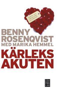 """Rosenqvist, Benny & Hemmel, Marika """"Kärleksakuten"""" POCKET SLUTSÅLD"""