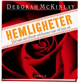 """McKinlay, Deborah, """"Hemligheter - vad män inte förstår och kvinnor inte vill tala om"""" INBUNDEN"""