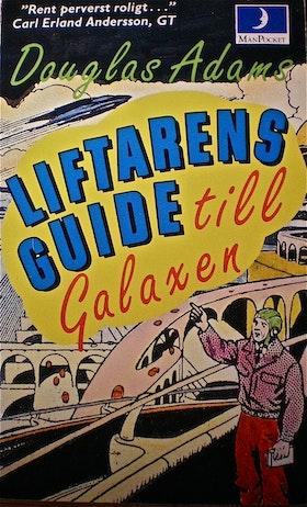"""Adams, Douglas, """"Liftarens Guide till Galaxen - del I"""" POCKET"""