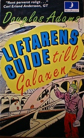 "Adams, Douglas, ""Liftarens Guide till Galaxen - del I"" POCKET"