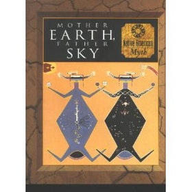 "Lowenstein, Tom m fl., ""Mother Earth, Father Sky - Native American Myth"" MKT VACKER BOK MED RIKA ILLUSTRATIONER, SLUTSÅLD"