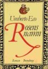 """Eco, Umberto, """"Rosens namn"""" INBUNDEN SLUTSÅLD"""