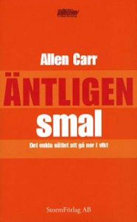 """Carr, Allen, """"Antligen smal - det enkla sättet att gå ner i vikt"""" HÄFTAD"""