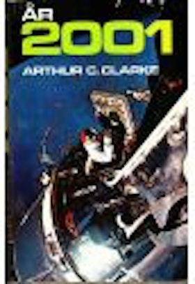 """Clarke, Arthur C., """"År 2001, en rymdodyssé"""" INBUNDEN"""