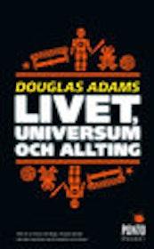 """Adams, Douglas """"Livet, universum och allting"""" POCKET"""