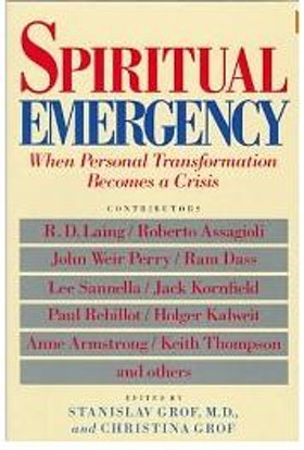 "Grof, Stanislav M.D. & Christina Grof (red.) ""Spiritual Emergency - When personal transformation becomes a crisis"" ENDAST 1 EX!"