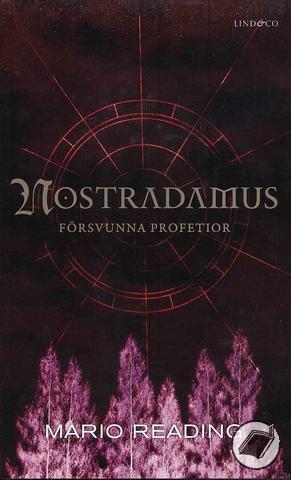 """Reading, Mario """"Nostradamus försvunna profetior"""" POCKET"""