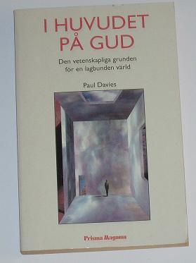 """Davies, Paul, """"I huvudet på Gud"""" POCKET PRISMA MAGNUM"""
