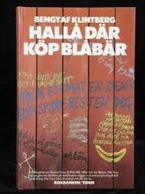 """Klintberg, Bengt af """"Hallå där köp blåbär"""" KARTONNAGE"""