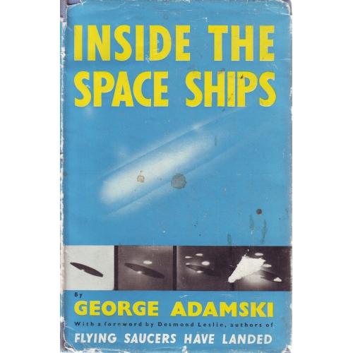 "Adamski, George ""Inside space ships"" INBUNDEN"