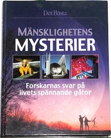 """Det Bästa, """"Mänsklighetens Mysterier - Forskarnas svar på livets spännande gåtor"""" MYCKET GEDIGEN VACKER BOK"""