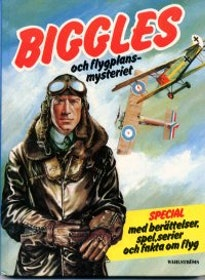 "Johns, W E ""Biggles och flygplansmysteriet"" KARTONNAGE"
