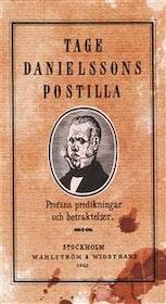 "Danielsson, Tage ""Tage Danielssons postilla"" KARTONNAGE"