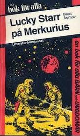 """Asimov, Isaac """"Lucky Starr på Merkurius"""" POCKET"""