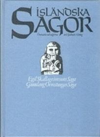 """Alving, Hjalmar (övers.) """"Isländska sagor. Del 3, Egil Skallagrimssons saga. Gunnlaug Ormstungas saga"""" KARTONNAGE"""