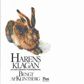 """Klintberg, Bengt af """"Harens klagan och andra uppsatser om folklig diktning"""" POCKET"""