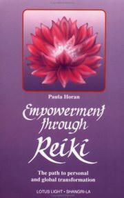 "Horan, Paula, ""Empowerment through Reiki"" ENDAST 1 EX!"