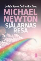 """Newton, Michael, """"Själarnas resa: Fallstudier om livet mellan liven"""" ANTIKVARISK INBUNDEN"""