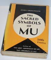 """Churchward, James, """"The Sacred Symbols of Mu"""" POCKET SLUTSÅLD"""
