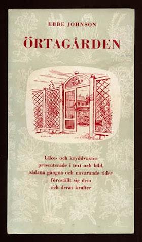 """Johnson, Ebbe """"Örtagården"""" HÄFTAD"""